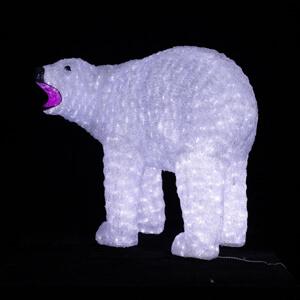 Akrilinė 3D figūra Baltas lokys