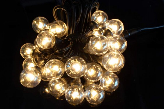LED lauko girlianda su stambiom lemputėm GALAXY