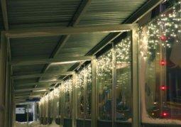 Kalėdinė lauko girlianda Varveklis Icicle Light 174 LED