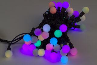 LED kalėdinė lauko girlianda Vaivorykštė