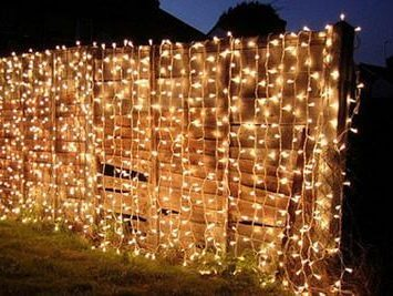 LED lauko girlianda Užuolaida
