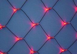 LED girlianda šviečiantis tinklas be mirksėjimo