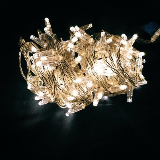 LED kalėdinė lauko girlianda Wire Play Clear